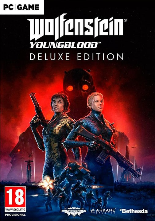 PC - Wolfenstein Youngblood Deluxe Download (ESD) 785300146435 Photo no. 1