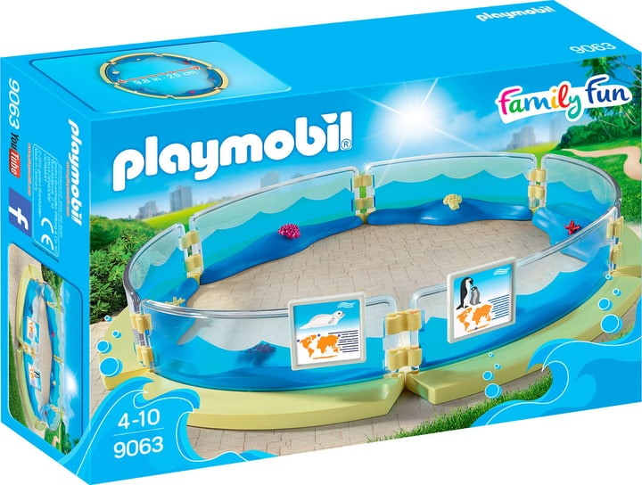 Playmobil Family Fun Enclos pour les animaux marins 9063 746087200000 Photo no. 1