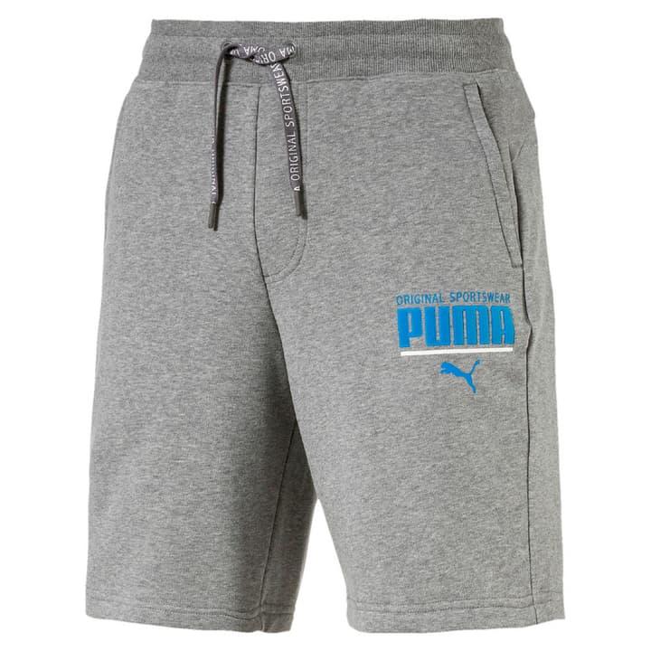 STYLE Athletic Sweat Shorts Short pour homme Puma 462388700480 Couleur gris Taille M Photo no. 1