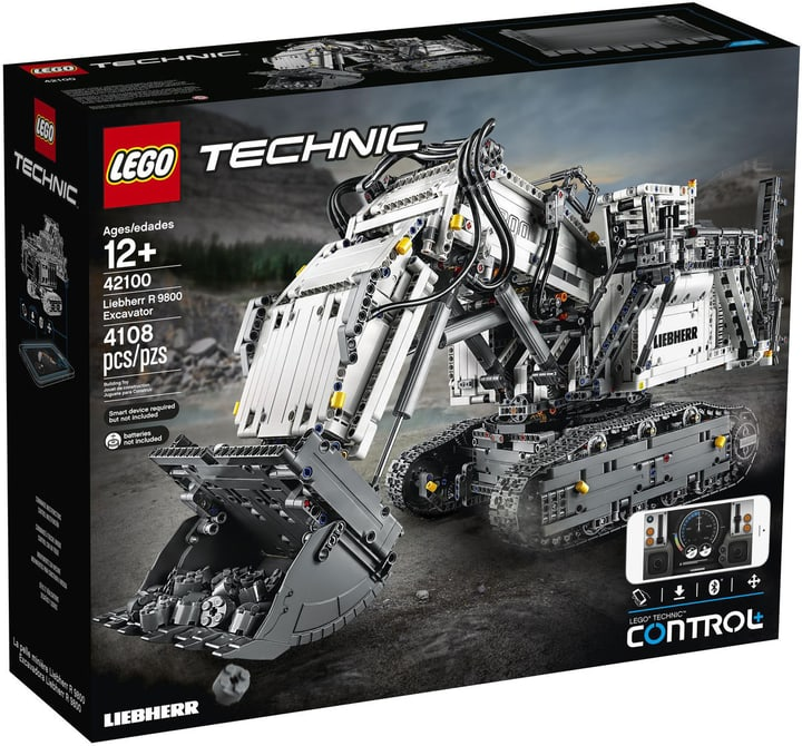 LEGO TECHNIC 42100 Liebherr Bagger R 9800 748896000000 Bild Nr. 1