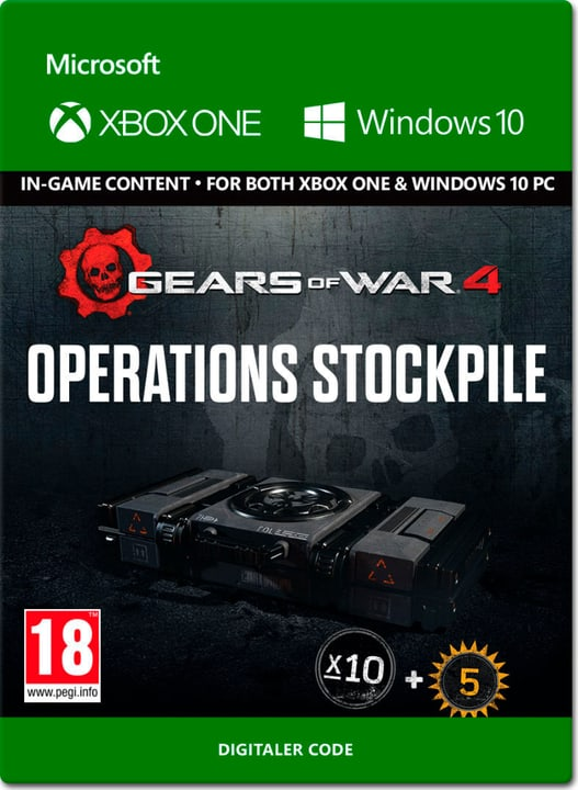 Xbox One - Gears of War 4: Operations Stockpile Digital (ESD) 785300137327 N. figura 1