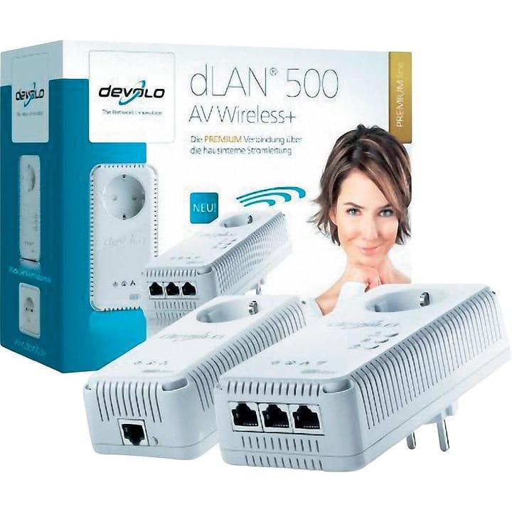 dLAN 500 AV Wireless+ Powerline Starter Kit Starter Kit devolo 79792940000014 Bild Nr. 1