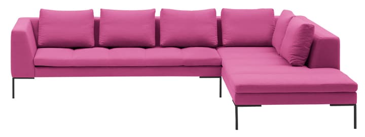 BADER Ecksofa 405686450636 Grösse B: 319.0 cm x T: 230.0 cm x H: 80.0 cm Farbe Pink Bild Nr. 1