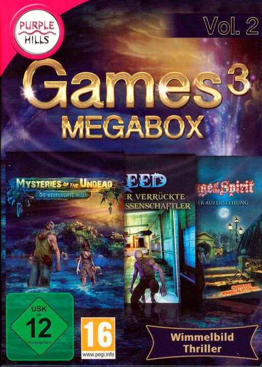 PC - Purple Hills: Games 3 Megabox Vol. 2 Fisico (Box) 785300129712 N. figura 1