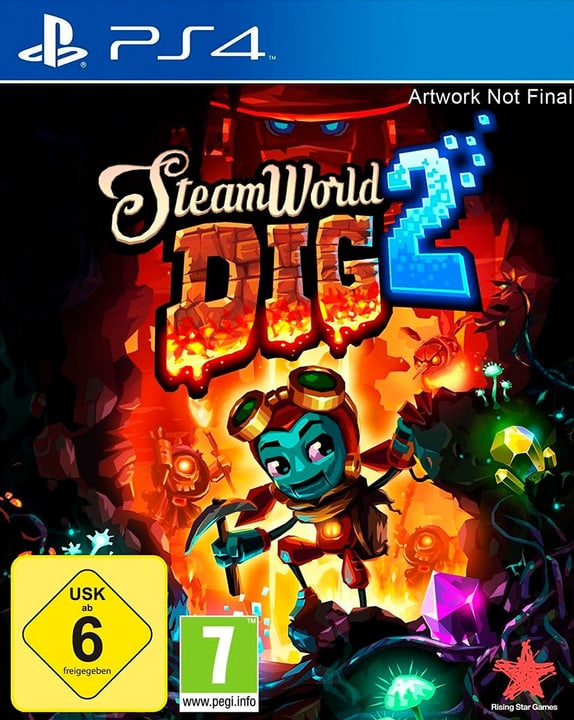 PS4 - Steamworld Dig 2 (D) Physisch (Box) 785300132719 Bild Nr. 1