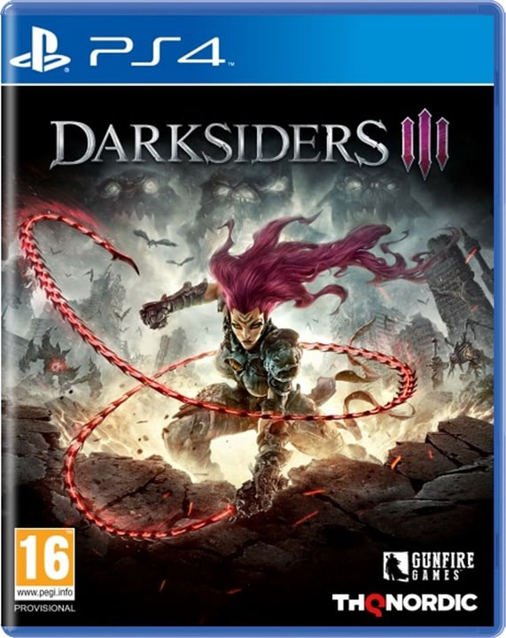 PS4 - Darksiders III (D/I) Box 785300138635 Bild Nr. 1