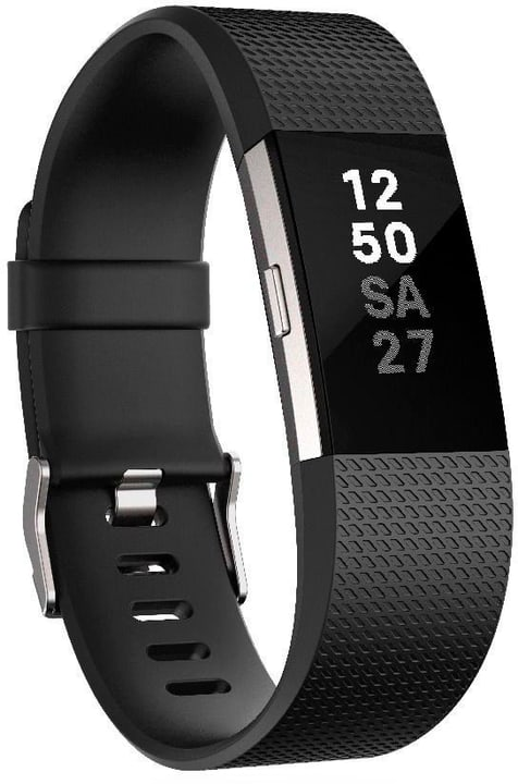 Charge 2 Noir Large Fitbit 798143700000 Photo no. 1