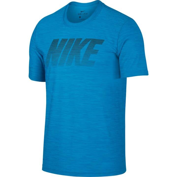 Breathe Shirt pour homme Nike 464919800340 Couleur bleu Taille S Photo no. 1
