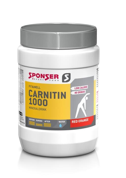 L-Carnitin 1000 Mineraldrink Polvere 400 g Sponser 471925300100 Gusto EXOTIC N. figura 1