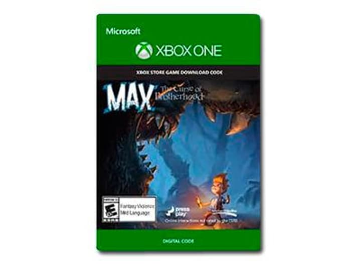 Xbox One - Max: The Curse of Brotherhood 785300135400 Photo no. 1