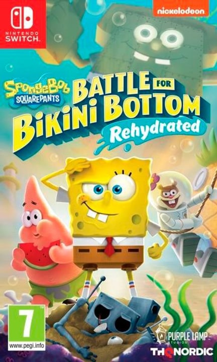 NSW - Spongebob Schwammkopf: Battle for Bikini Bottom - Rehydrated Box 785300152486 Langue Français Plate-forme Nintendo Switch Photo no. 1