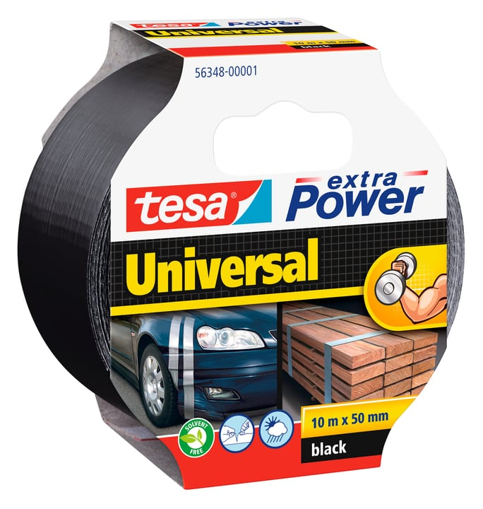 extra Power® Universal 10m:50mm noir Tesa 663080600000 Photo no. 1
