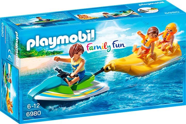 Playmobil Vacanciers avec Aqua scooter et banane 6980 746071100000 Photo no. 1