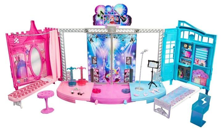 Rock n' Royals 2-in-1 Showbühne Barbie 74792770000015 Bild Nr. 1