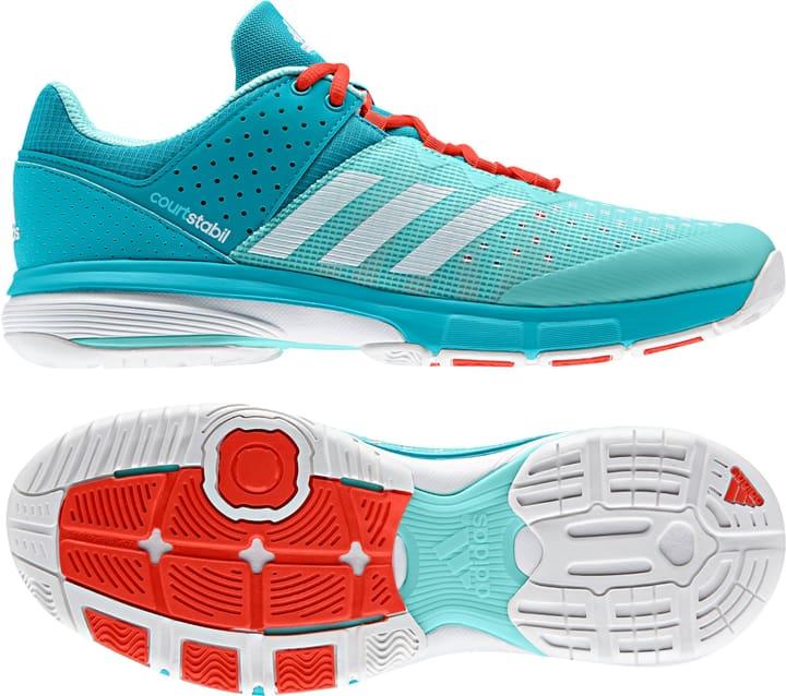 Court Stabil Chaussures d'intérieur pour femme Adidas 461709437085 Couleur menthe Taille 37 Photo no. 1