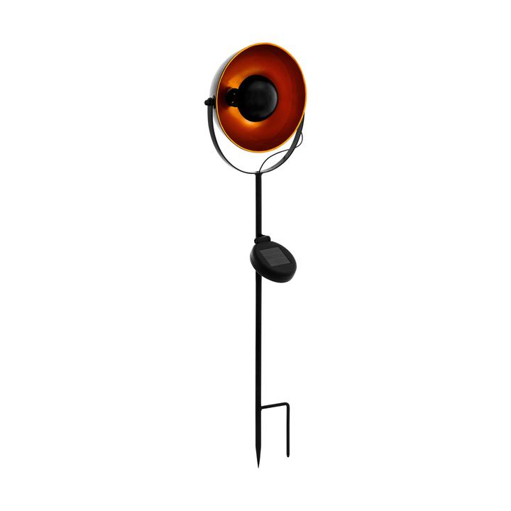 Lampe solaire LED noir/orange Eglo 612637300000 Photo no. 1