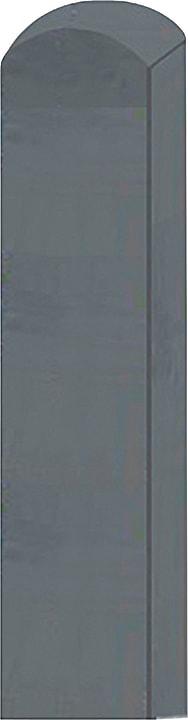 Vierkantpfosten mit Rundkopf 647112200000 Grösse L: 190.0 cm x B: 9.0 cm x T: 9.0 cm x H:  Bild Nr. 1