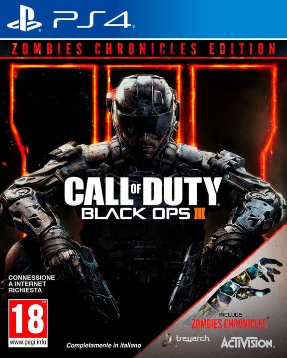 PS4 - Call of Duty: Black Ops III - Zombie Physique (Box) 785300128196 Photo no. 1