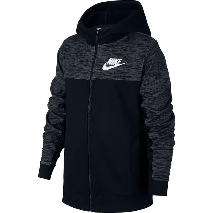 Sportswear Hoodie Veste à capuche pour garçon Nike 464579912220 Couleur noir Taille 122 Photo no. 1
