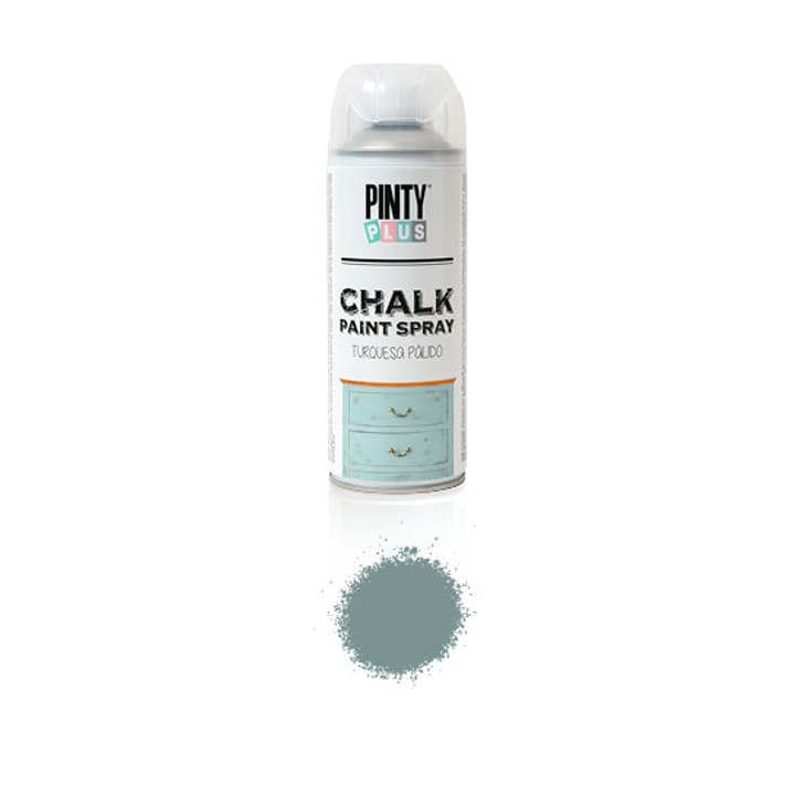 Chalk Paint Spray Ash Grey I AM CREATIVE 666143100130 Colore Grigio scuro N. figura 1