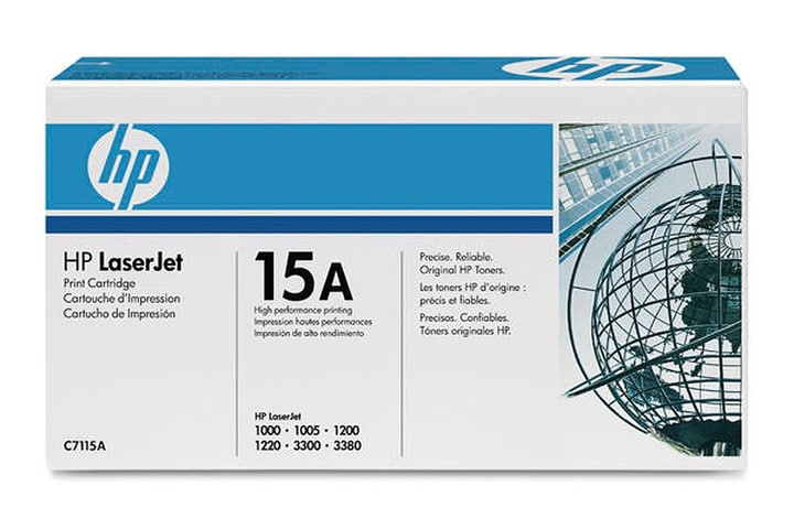 C7115A Toner-Modul Ultra Prec 15A black HP 797421000000 Photo no. 1