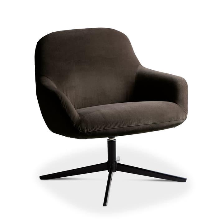 ROSE Sessel 360049949204 Grösse B: 72.0 cm x T: 77.0 cm x H: 78.0 cm Farbe Dunkelbraun Bild Nr. 1
