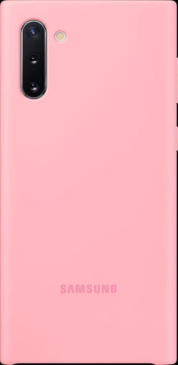 Silicone Cover pink Coque Samsung 785300146425 Photo no. 1