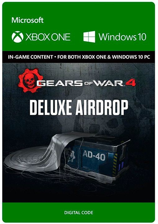 Xbox One - Gears of War 4: Deluxe Airdrop Digital (ESD) 785300137329 N. figura 1