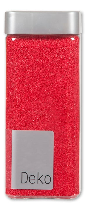 Sable 850gr. 0.5mm Do it + Garden 656138600001 Couleur Rouge Taille L: 6.5 cm x L: 6.5 cm x H: 15.5 cm Photo no. 1