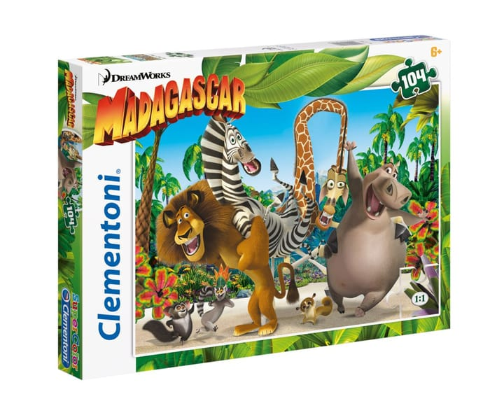 Clemantoni Puzzle Madagaskar 104 Teilig 746999300000 Photo no. 1