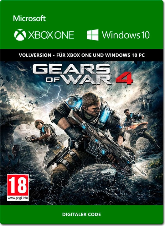 Xbox One - Gears of War 4 Digital (ESD) 785300137324 N. figura 1