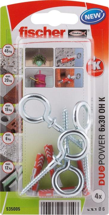 DUOPOWER 6 x 30 avec crochet piton fischer 605441400000 Photo no. 1