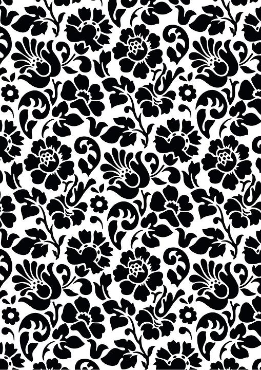 Pellicole decorative autoadesive stile barocco nero e bianco D-C-Fix 665848500000 N. figura 1