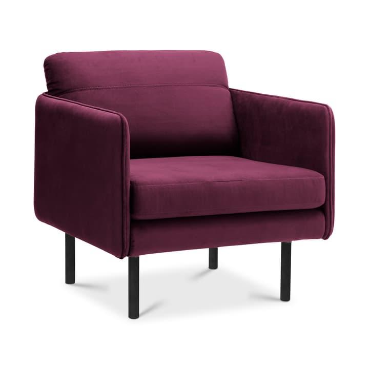 IVY Sessel 360535700000 Grösse B: 71.0 cm x T: 79.0 cm x H: 72.0 cm Farbe Bordeaux Bild Nr. 1