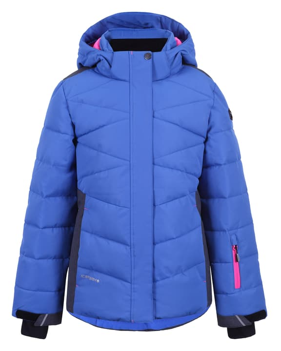 Helia Veste de ski pour fille Icepeak 464582717640 Couleur bleu Taille 176 Photo no. 1