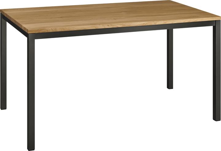 ALEXIS II Table 402399815012 Dimensions L: 140.0 cm x P: 80.0 cm x H: 75.0 cm Couleur Chêne massif Photo no. 1