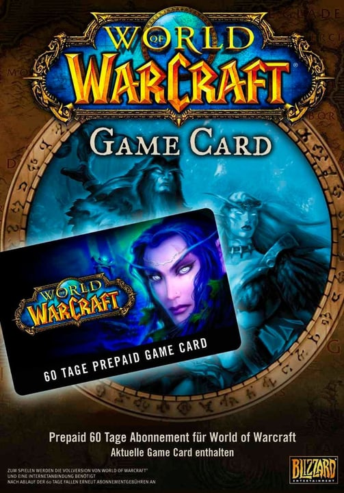 PC - World of Warcraft PrePaid Game Card 60 Tage Fisico (Box) 785300116459 N. figura 1