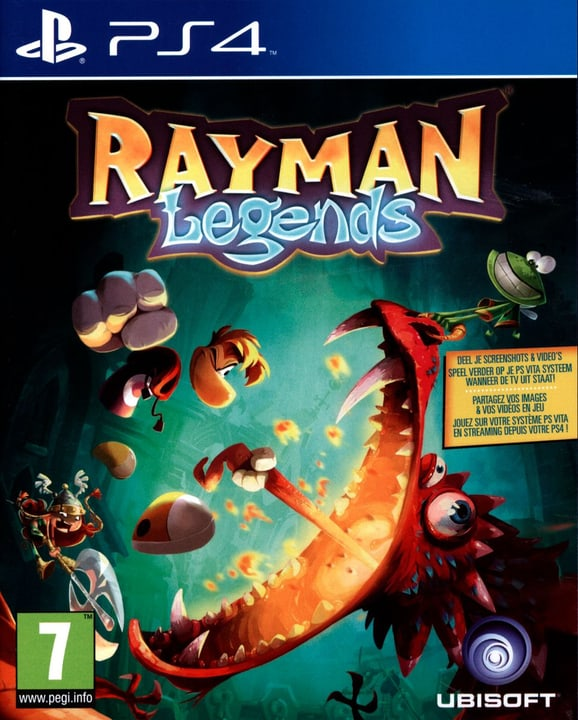 Rayman Legends (PS4) (F) Box 785300131212 Photo no. 1