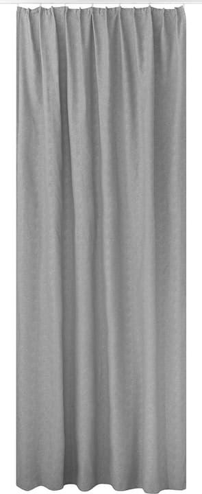 MARCOS Rideau prêt à poser opaque 430278122081 Couleur Gris clair Dimensions L: 150.0 cm x H: 270.0 cm Photo no. 1