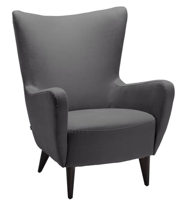 JANSEN (Caleido) Sessel 402440607083 Grösse B: 83.0 cm x T: 91.0 cm x H: 103.0 cm Farbe Dunkelgrau Bild Nr. 1