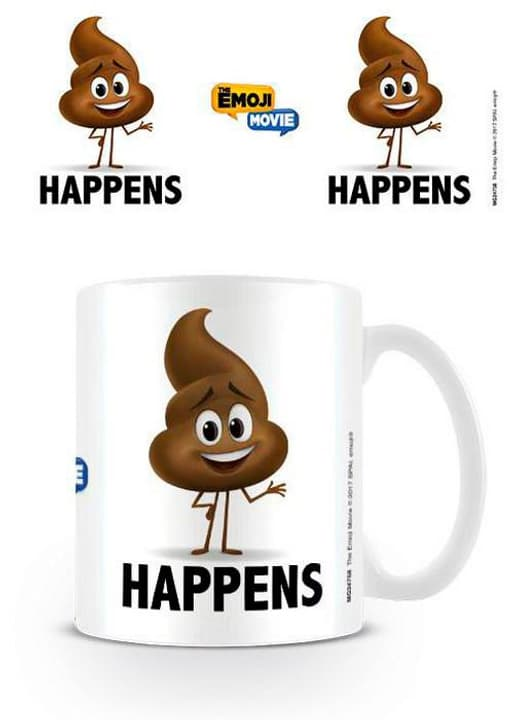 The emoji movie:Poop Happens - Tasse (315ml) 785300129867