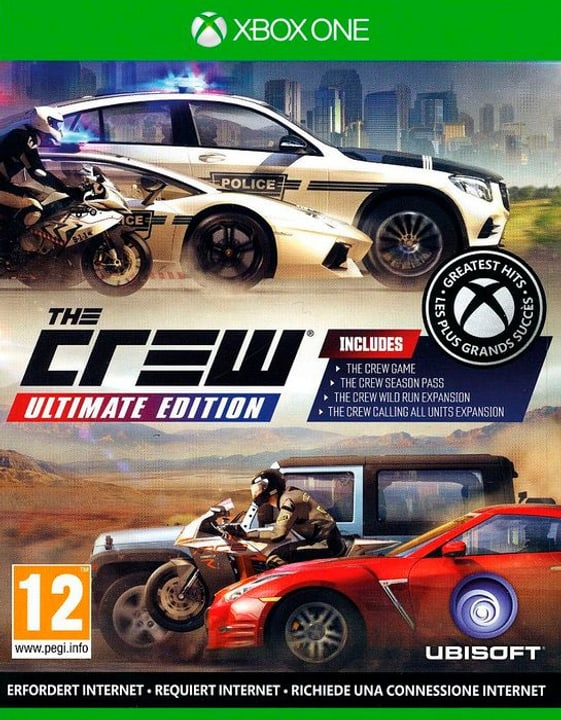 Xbox One - The Crew Ultimate Edition D Box 785300138081 Photo no. 1