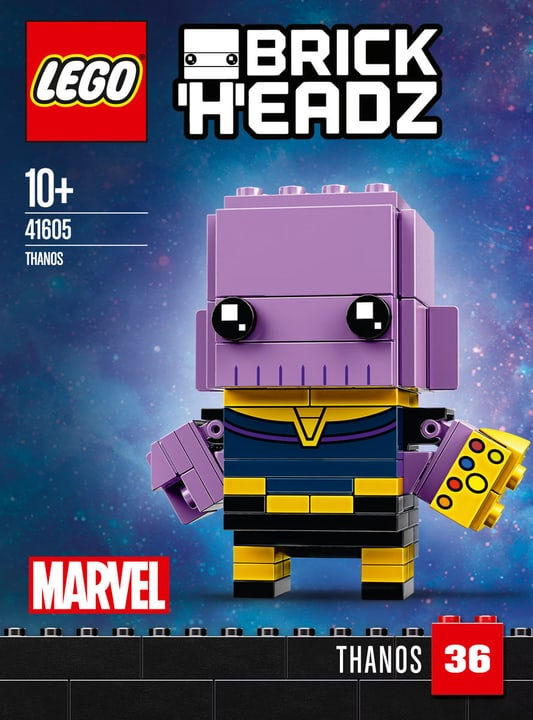 Lego BRICKHEADZ 41605 Thanos 748877600000 Bild Nr. 1