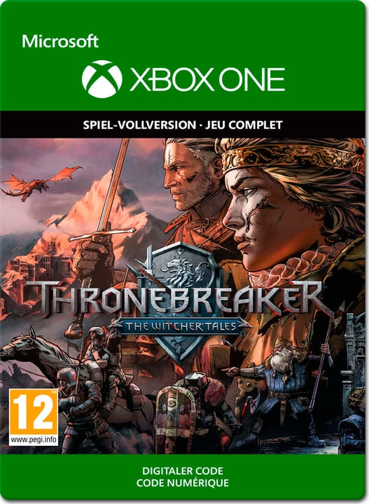 Xbox One - Thronebreaker - The Witcher Tales Download (ESD) 785300141424 N. figura 1
