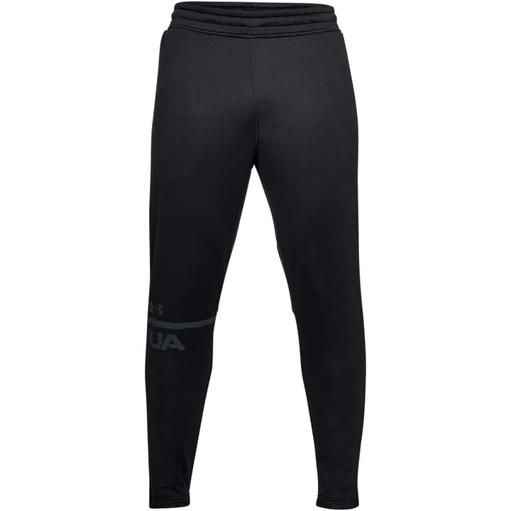 Tech Terry Tapered Pant Mens Pantalon pour homme Under Armour 464918200420 Couleur noir Taille M Photo no. 1