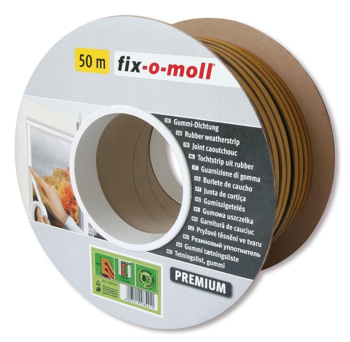E-Profil Gummi Dichtung 9x4mm x 50m Fix-O-Moll 673006800000 Bild Nr. 1