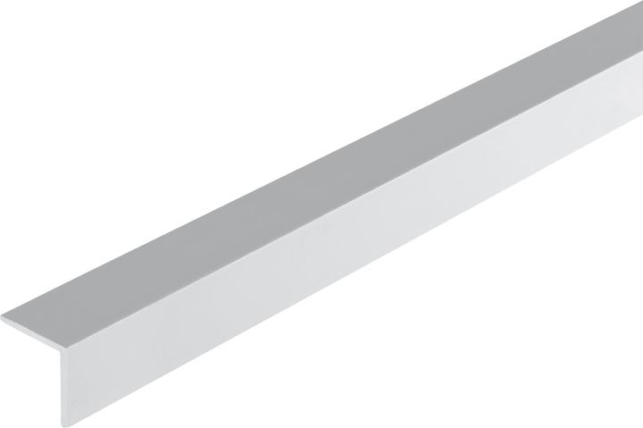 Cornière isocèle 1.8 x 25 x 25 mm PVC blanc 2 m alfer 605041900000 Photo no. 1