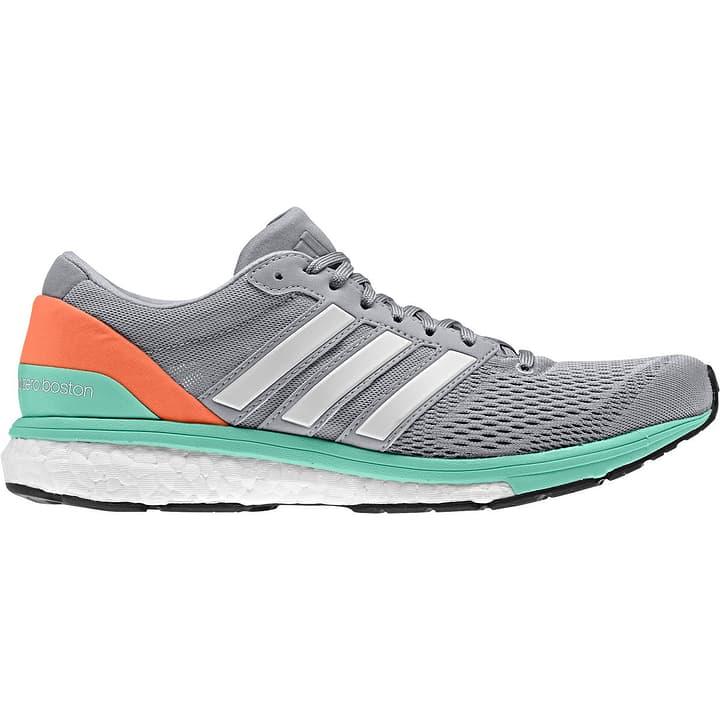 Adizero Boston Boost 6 Damen-Runningschuh Adidas 461667440080 Farbe grau Grösse 40 Bild-Nr. 1