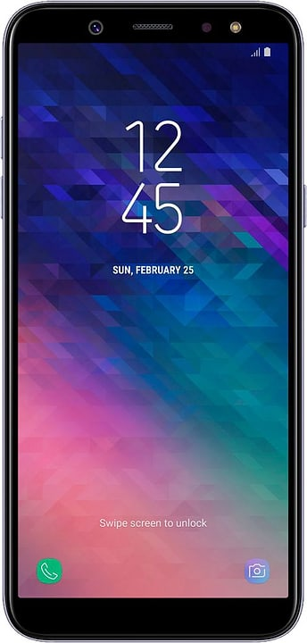 Galaxy A6 32GB Lava Smartphone Samsung 785300136145 Bild Nr. 1