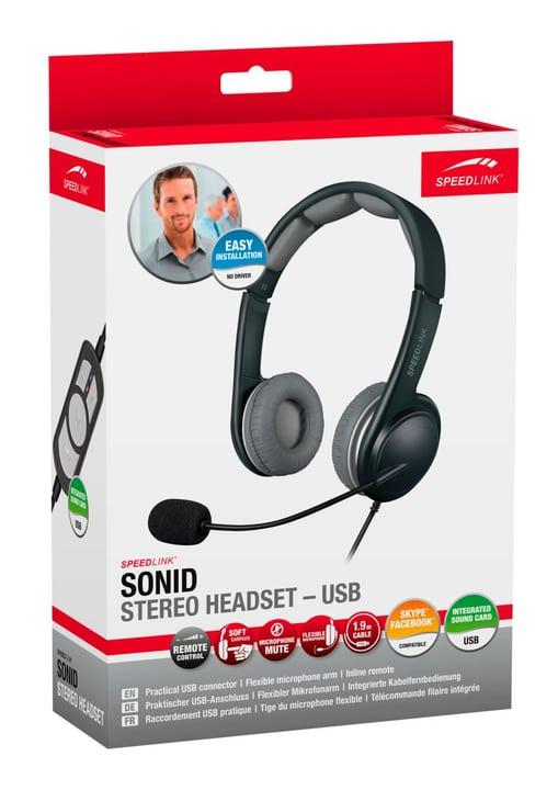 SONID Stereo-Headset USB Speedlink 797979900000 Photo no. 1